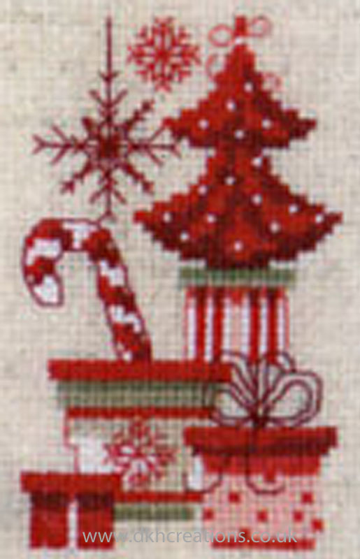 Counted Cross Stitch Christmas Ornaments