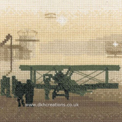 Aerodrome Cross Stitch Kit