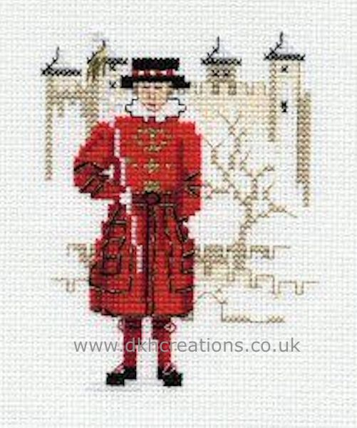 Beefeater Cross Stitch Kit