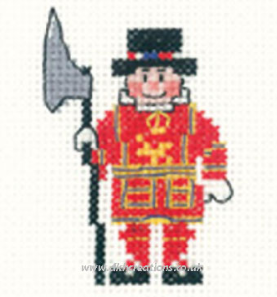 Beefeater Mini Cross Stitch Kit