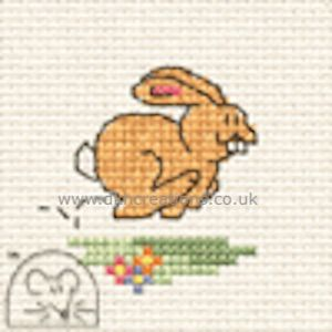 Bunny Make Me For Springtime Cross Stitch Kit