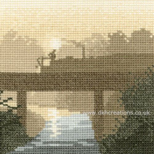 Canal Crossing Cross Stitch Kit