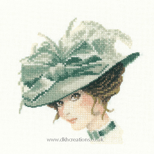 Charlotte Miniature Evenweave Cross Stitch Kit