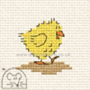 Chick Make Me For Springtime Cross Stitch Kit