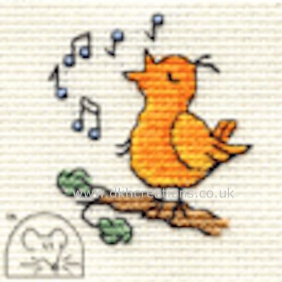 Chirpy Bird Cross Stitch Kit
