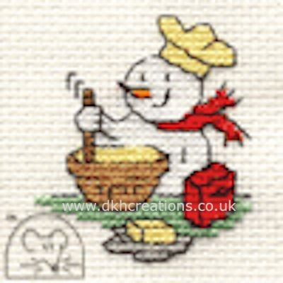 Christmas Baking  Cross Stitch Kit
