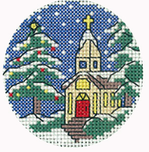 Christmas Greeting Cards Cross Stitch