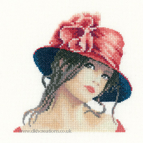 Claire Miniature Evenweave Cross Stitch Kit