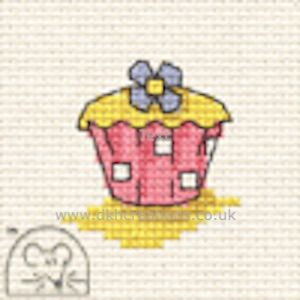 Cupcake Make Me For Springtime Cross Stitch Kit