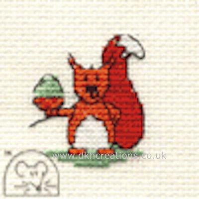 Cyril Squirrel Cross Stitch Kit