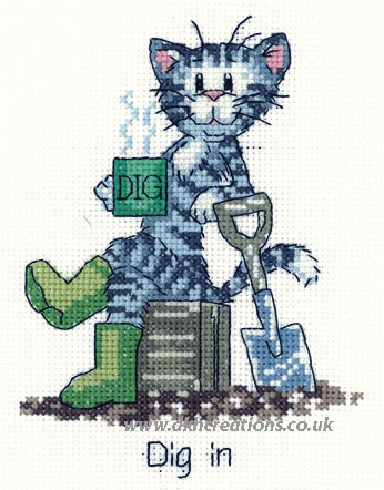Dig In Cross Stitch Kit
