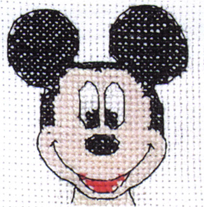 Disney Mickey Quickie Cross Stitch Kit