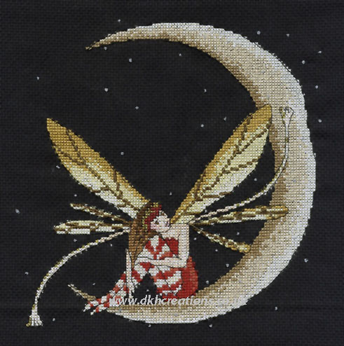 Faery Moon 8 Cross Stitch Kit