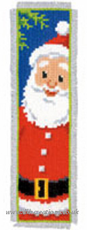 Father Christmas Bookmark Cross Stitch Kit