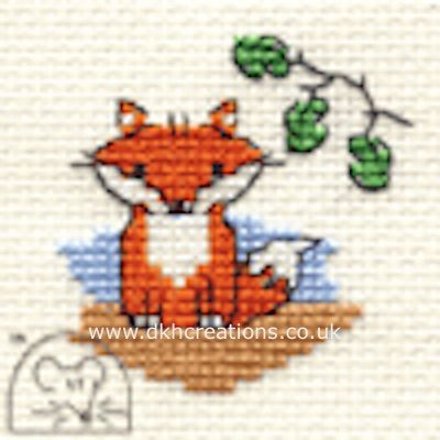 Ferdinand Fox Cross Stitch Kit