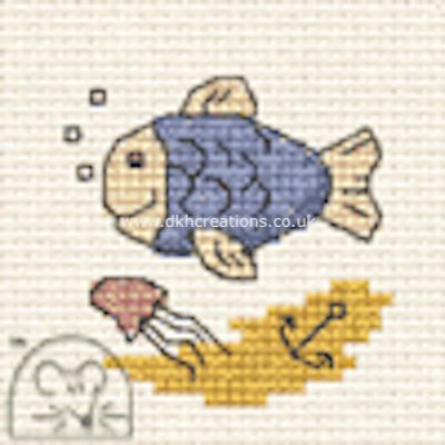 Fish  By The Seaside Cross Stitch Kit