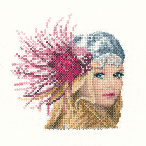 Fleur Miniature Evenweave Cross Stitch Kit