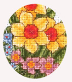 Flora And Fauna Cross Stitch