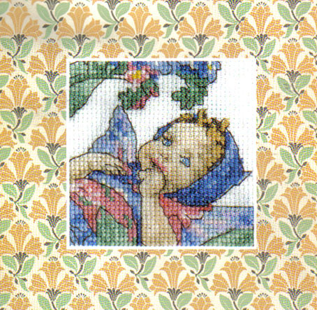 Flower Fairies Forget-Me-Not Fairy Cross Stitch Kit