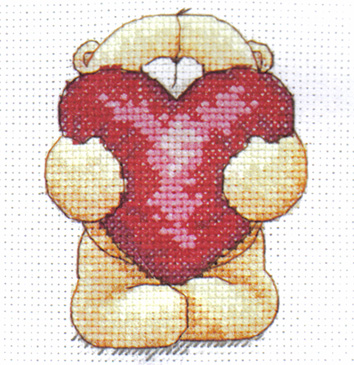 Forever Friends Big Hug Cross Stitch Kit