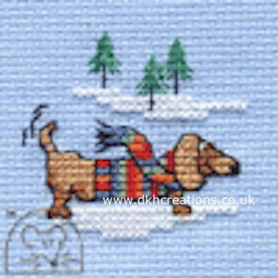 George's Jumper  Cross Stitch Kit