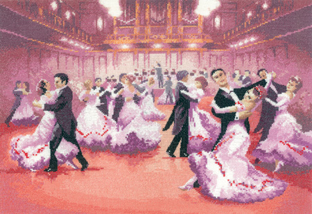 Grand Ball Cross Stitch Kit
