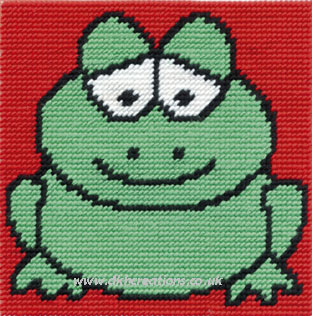 Groovy Frog Tapestry Kit