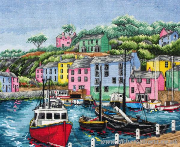 Harbour Cross Stitch Kit