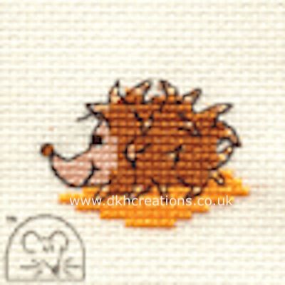 Harriet Hedgehog Cross Stitch Kit