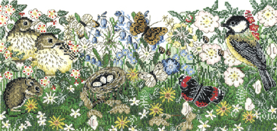 Hedgerows Cross Stitch Kit