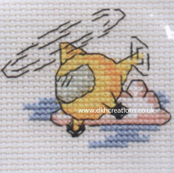 Helicopter Cross Stitch Kit