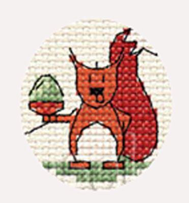 In The Woods Cross Stitch
