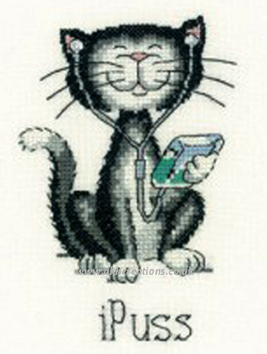 iPuss Cross Stitch Kit