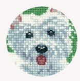 Its A Dogs Life Cross Stitch By Peter Underhill