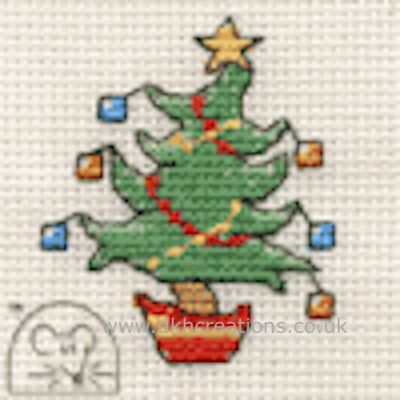 Jolly Tree Cross Stitch Kit