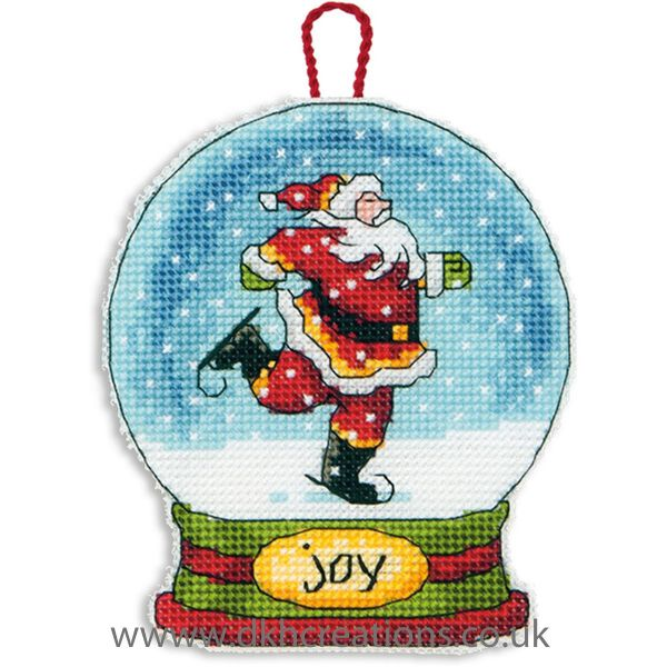 D70-08916 Christmas Ornament Dimensions Cross Stitch Kit Reindeer