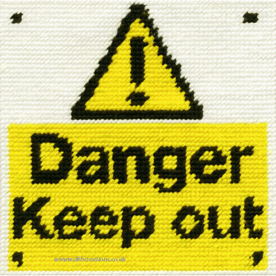 Keep Out Tapestry Kit