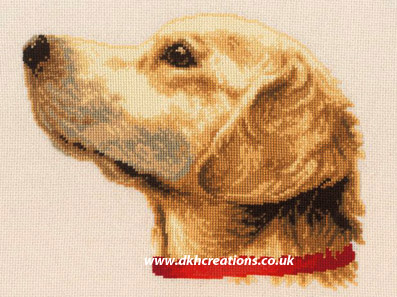 Labrador Dog Cross Stitch Kit
