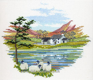 Lakeside Farm Cross Stitch Kit