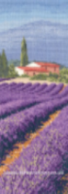Lavender Fields Cross Stitch Kit