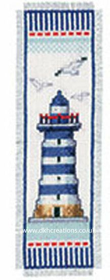 Lighthouse Bookmark Cross Stitch Kit