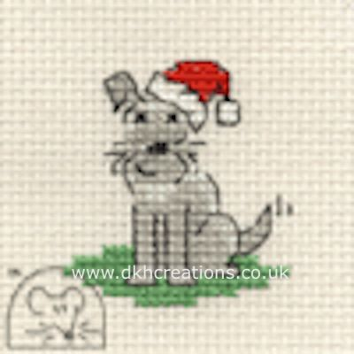 Little Dogs Christmas Cross Stitch Kit