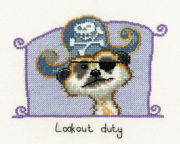 Lookout Duty Cross Stitch Kit