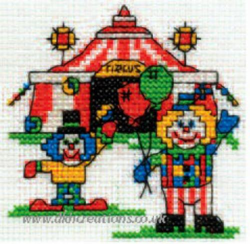 Make A Wish Foundation A Trip To The Circus Mini Cross Stitch Kit
