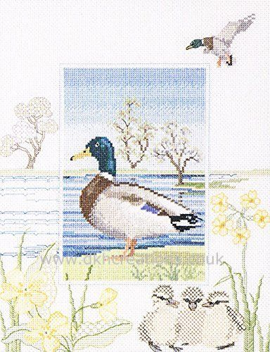 Mallard Cross Stitch Kit