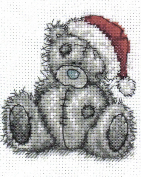 Me To You Tatty Teddy Christmas Day Cross Stitch Kit