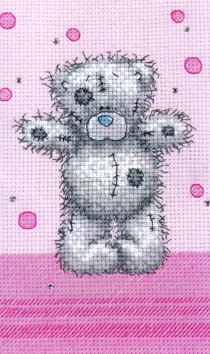 Me To You Tatty Teddy Dotty Day Love Cross Stitch Kit