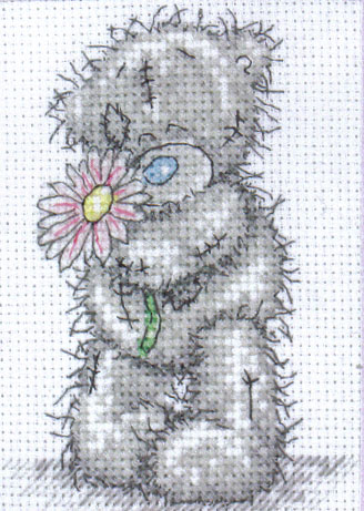 Me To You Tatty Teddy For You Cross Stitch Kit
