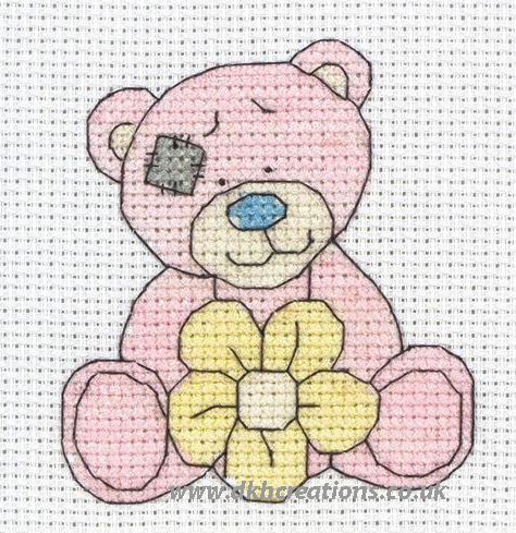Me To You Tatty Teddy My Blue Nose Friends Cuddles Cross Stitch Kit