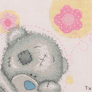 Me To You Tatty Teddy Pretty In Pink Cross Stitch Kit